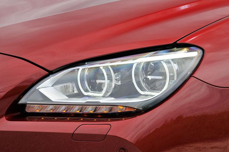BMW 650i Coupe, adaptive LED-Scheinwerfer