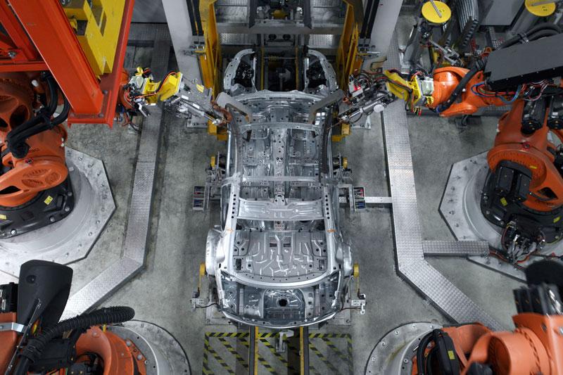 BMW 6er Coupe Produktion im BMW Werk Dingolfing