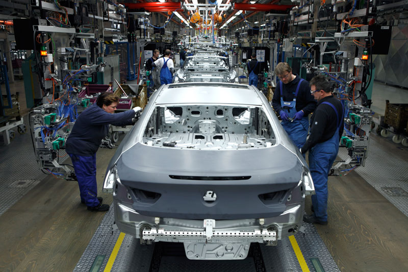 BMW 6er Coupe Produktion im BMW Werk Dingolfing