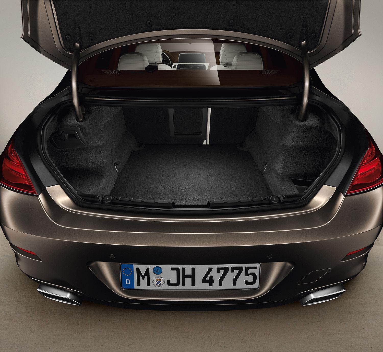 Bmw Xdrive 650i: Foto: Das Neue BMW 650i Gran Coupé, Exterieur: Kofferraum