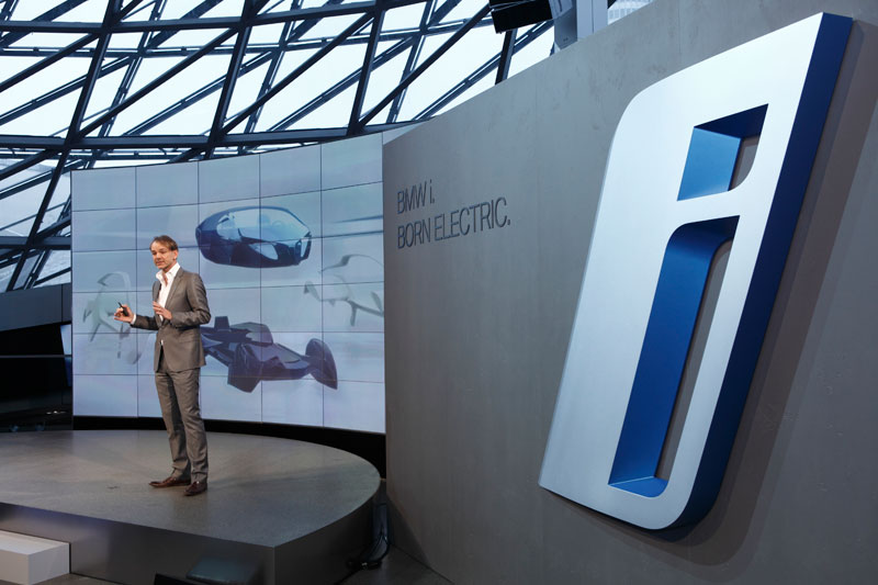 Start der neuen Submarke BMW i, Adrian van Hooydonk, Leiter BMW Group Design.