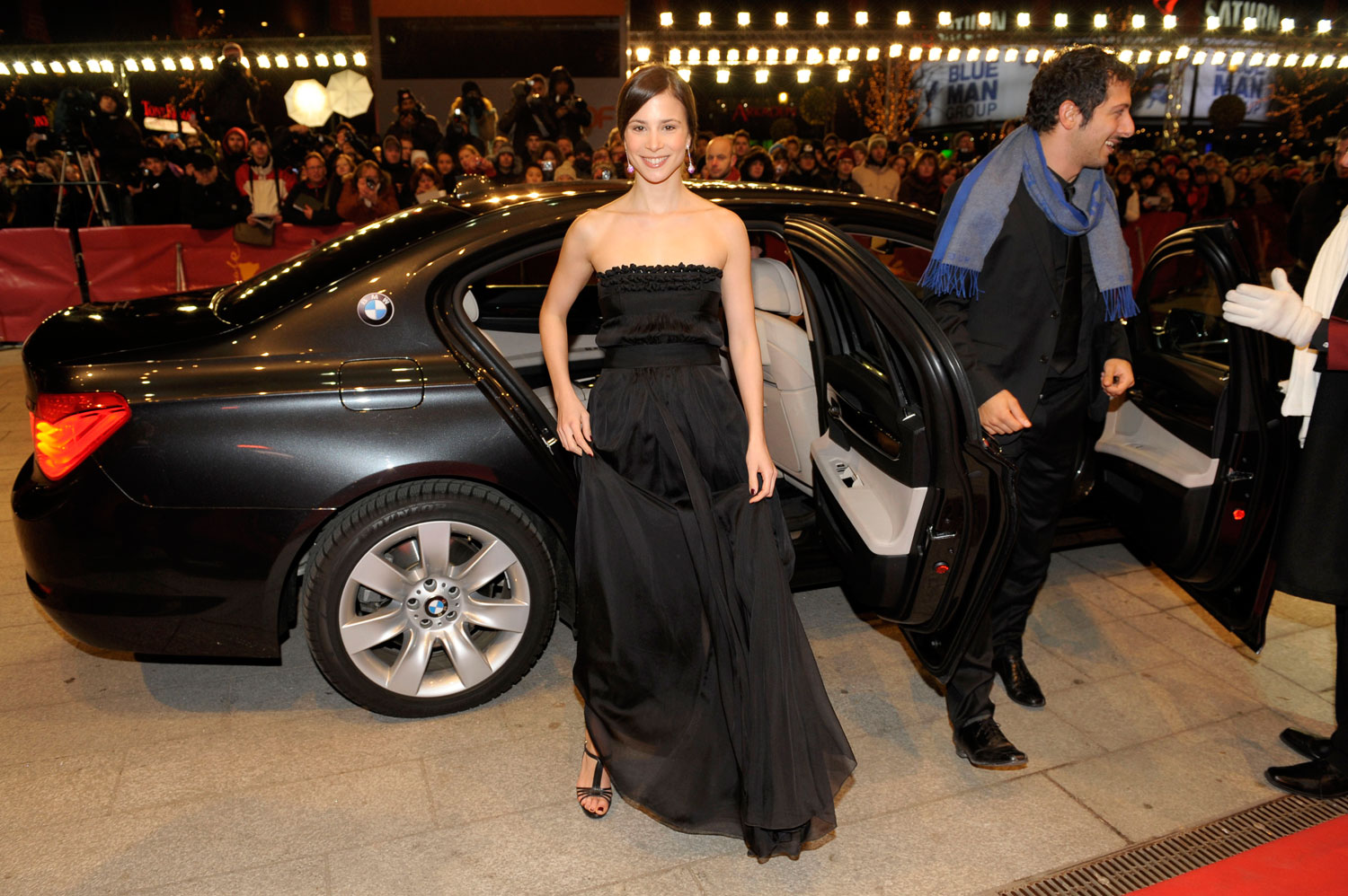 photo of Aylin Tezel BMW - car