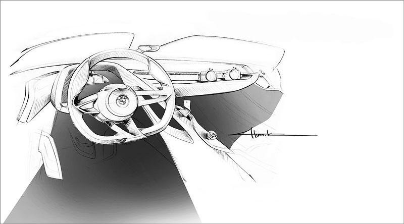 BMW 328 Hommage, Designskizze