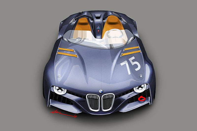 BMW 328 Hommage, Grafik