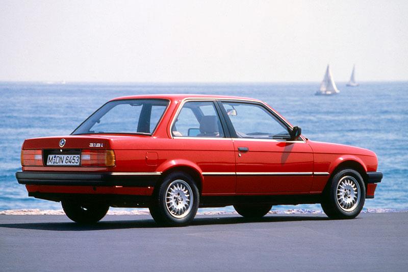 Die BMW 3er-Reihe der zweiten Generation (E30)