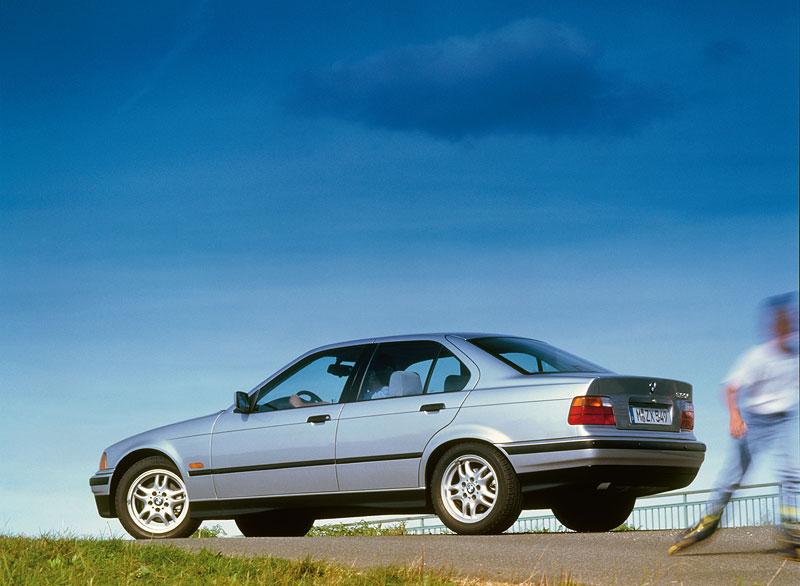 Die BMW 3er-Reihe der dritten Generation (E36)