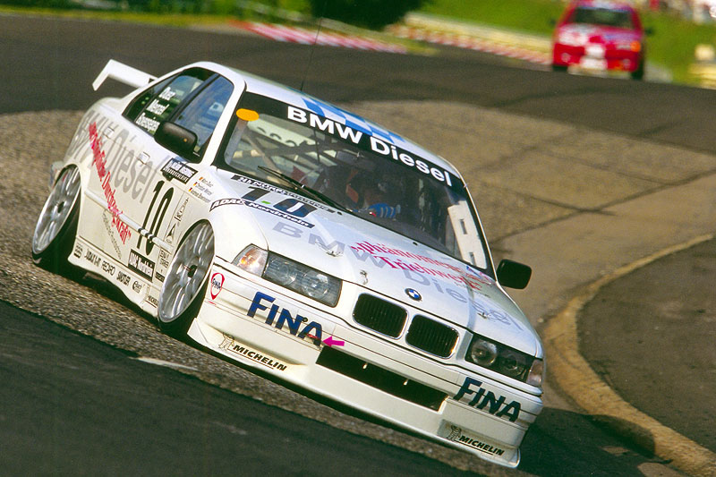 BMW 320d, 24-Stunden-Rennen Nürburgring 1998