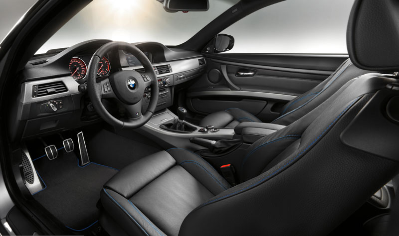 Interieur des BMW 3er Coupé mit M Sport Edition