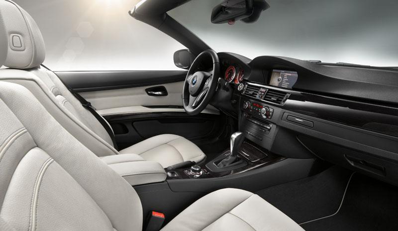 Sehr elegant und wertig: Interieur des BMW 3er Cabrio Edition Exclusive