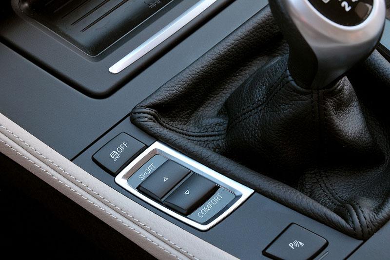 BMW 520d EfficientDynamics Edition, Fahrerlebnis-Schalter