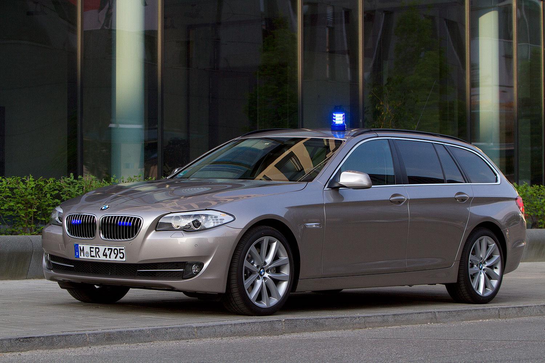 Foto: BMW 5er Touring, Modell F11, Einsatzwagen (verdeckte ...