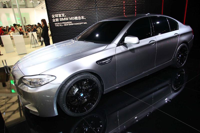 BMW Concept M5, Weltpremiere auf der Shanghai Auto Show