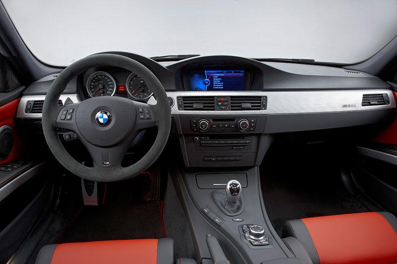 auf 67 Einheiten limitiert ist das Sondermodell BMW M3 CRT, hier der Innenraum