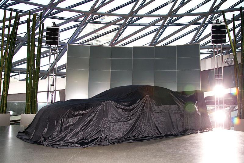 BMW M3 DTM Concept Car vor seiner Enthüllung