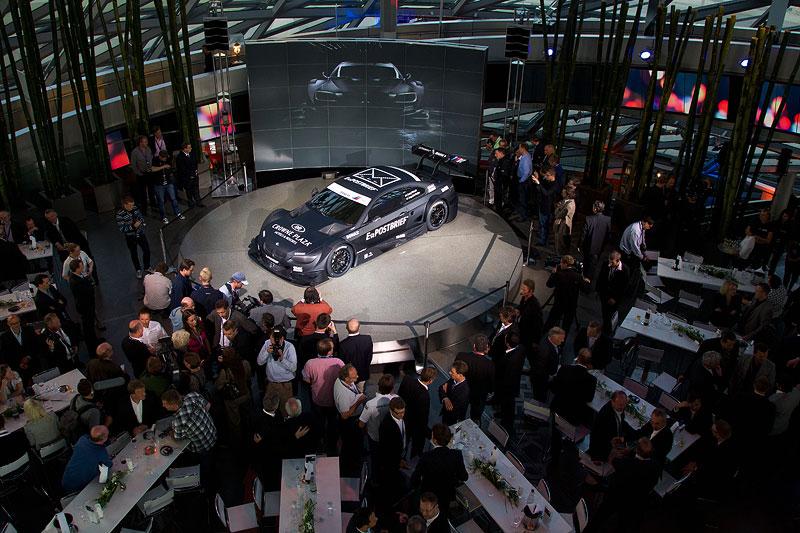 BMW M3 DTM Concept Car Präsentation in der BMW Welt