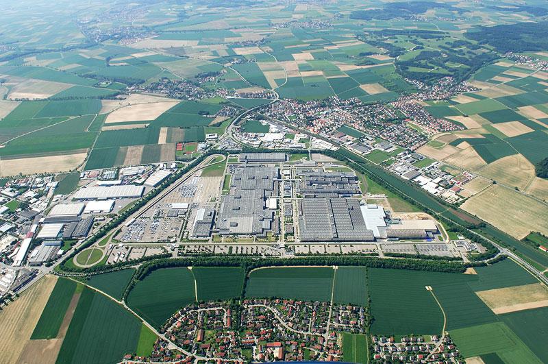 BMW Werk Regensburg 2011