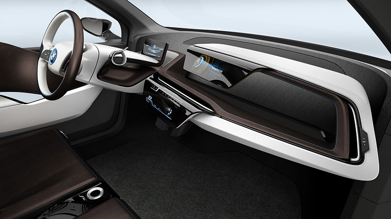 Foto bmw i3 concept interieur vergr ert for Interieur i3