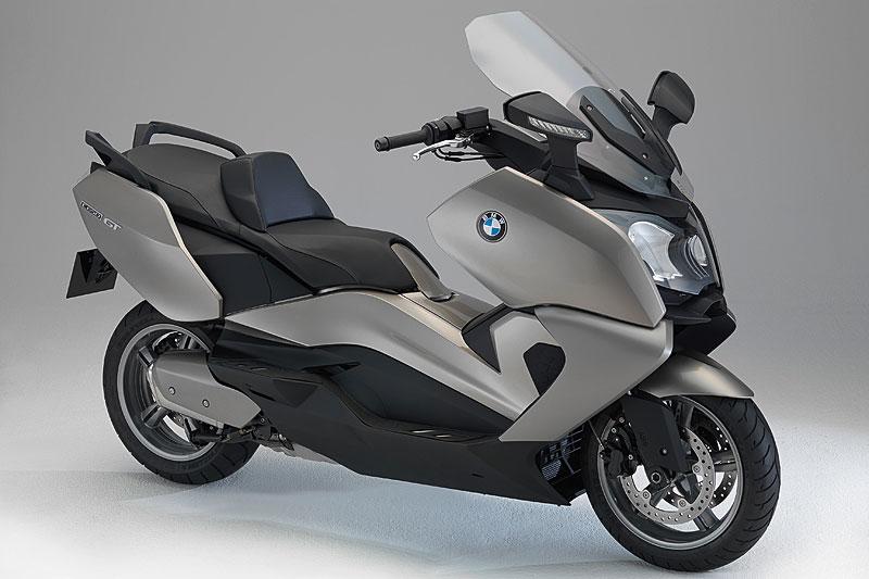 BMW C 650 GT in Platinbronze metallic