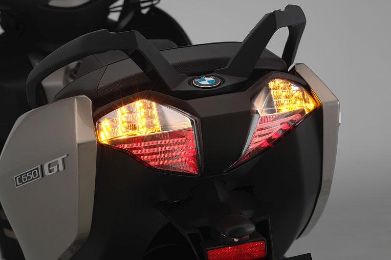 BMW C 650 GT: Rücklicht