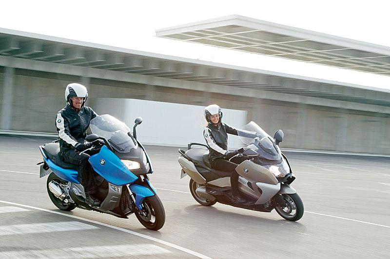 BMW C 600 Sport und BMW C 650 GT