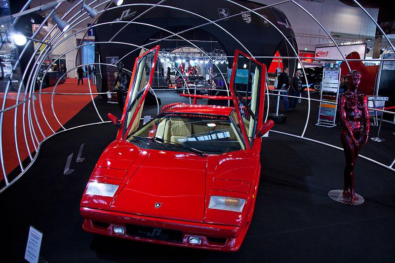 Impressionen von der Essen Motor Show 2011: ein Lamborghini