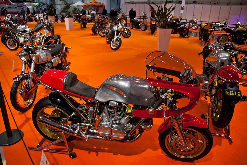 Impressionen von der Essen Motor Show 2011: Motorradschau