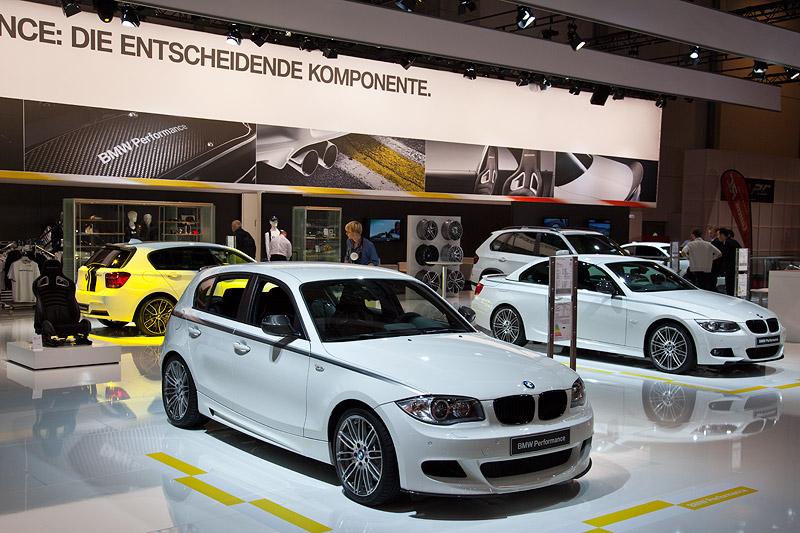 BMW 1er (E87) mit BMW Performance Komponenten
