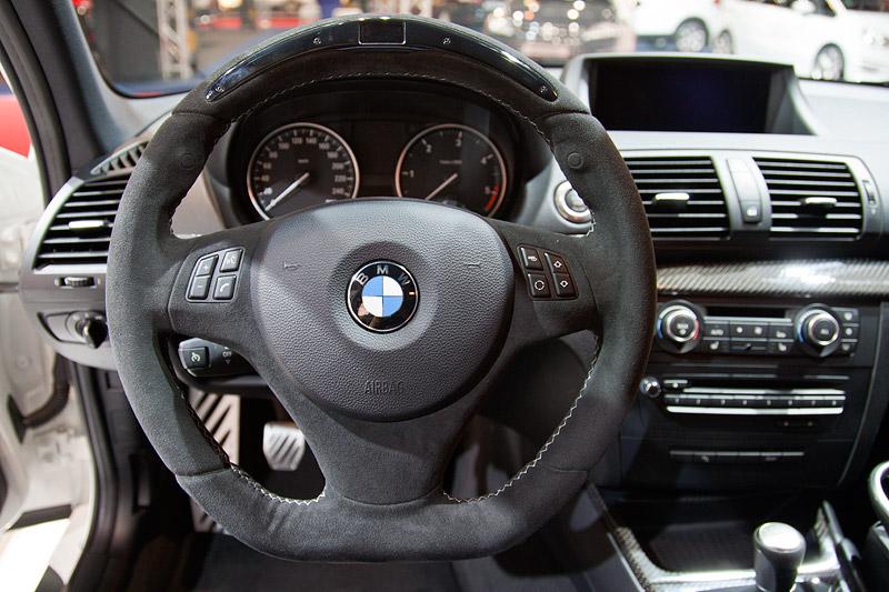 BMW 1er (E87) mit BMW Performance Sportlenkrad mit Display