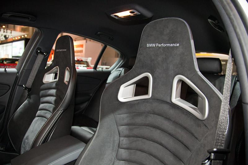 BMW 1er (E87) mit BMW Performance Sportsitzen (3.150 Euro)
