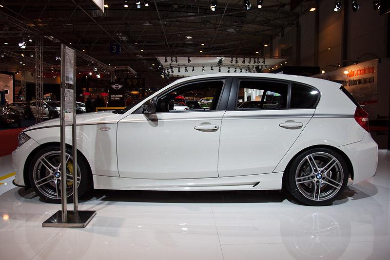 BMW 1er (E87) mit BMW Performance Akzentstreifen