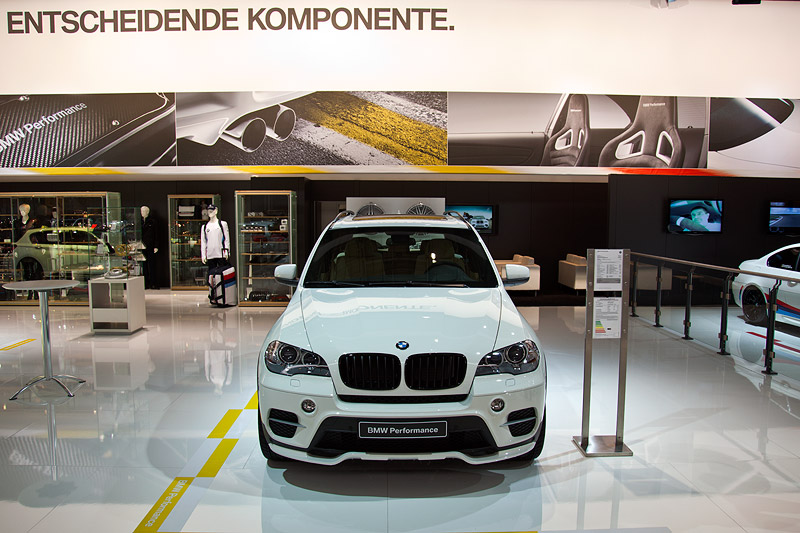 Essen Motor Show 2011: BMW X5 35i Performance