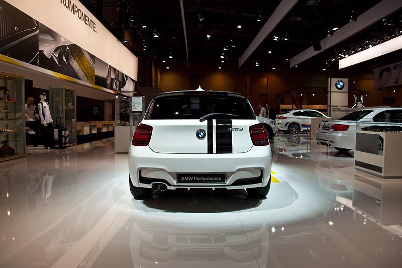 Essen Motor Show 2011: BMW Performance Studie auf Basis des neuen BMW 1er