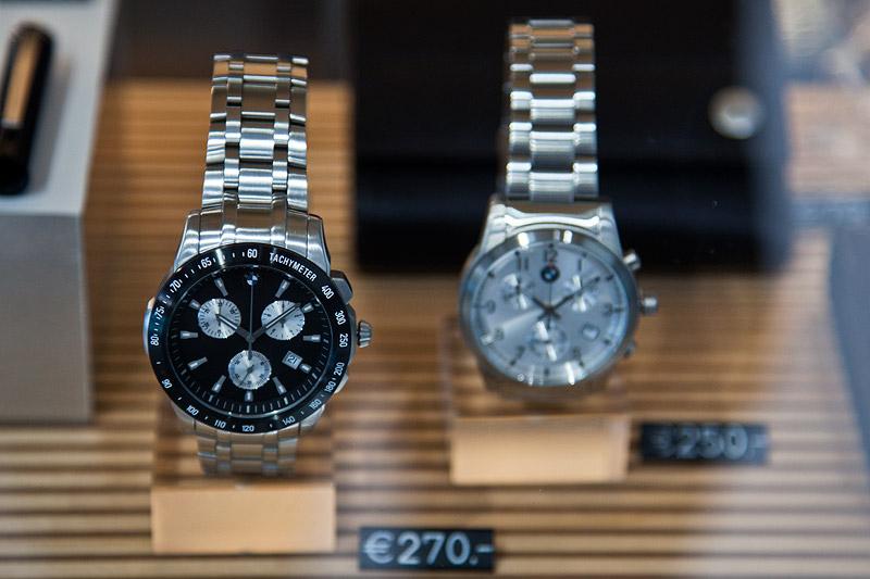 Essen Motor Show 2011: BMW Armbanduhren