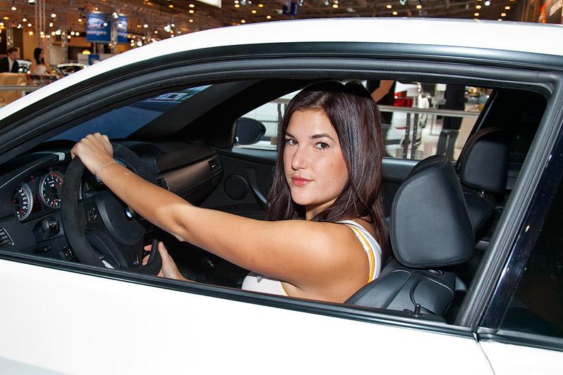 BMW M3 Fahrsimulator auf der Essen Motor Show 2011