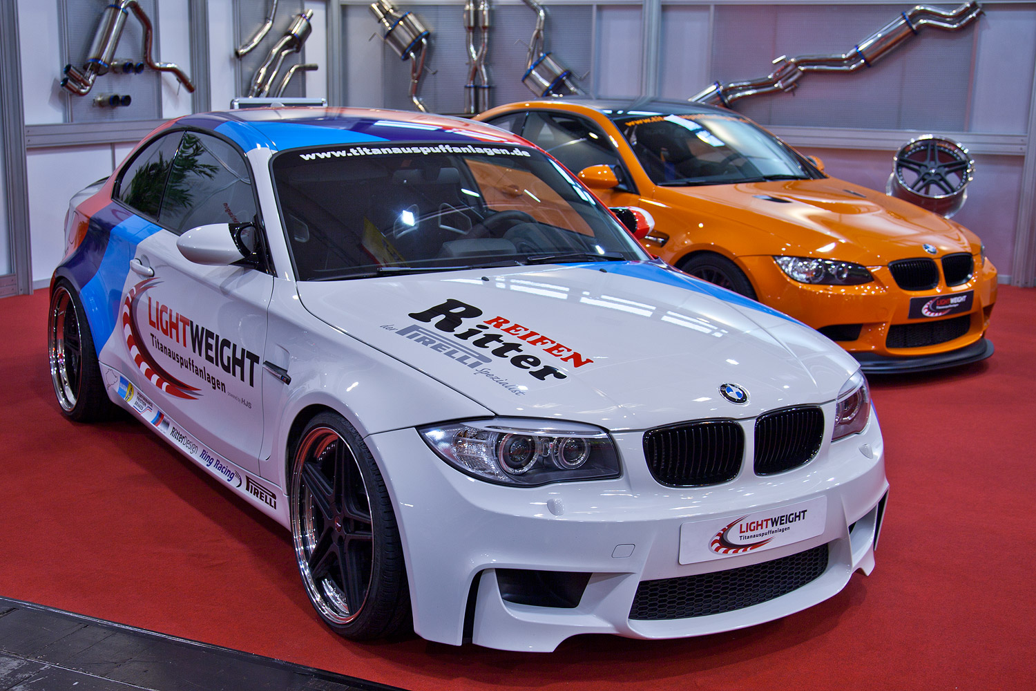 foto bmw 1er m coup e82 by lightweight 401 ps bei u min 555 nm bei u min. Black Bedroom Furniture Sets. Home Design Ideas