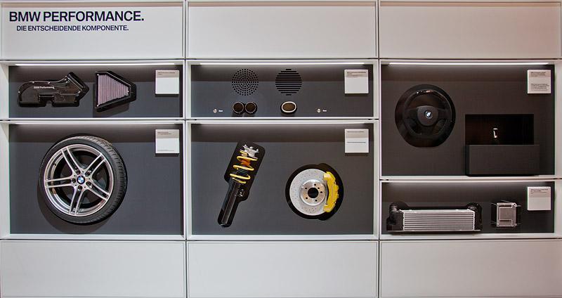 BMW Performance Komponenten auf der Essen Motor Show 2011