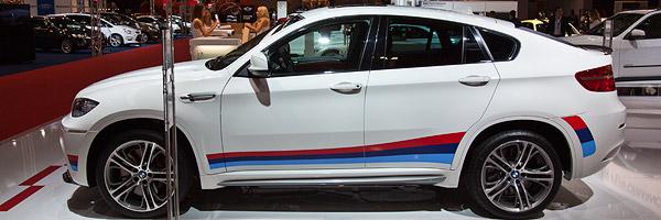 Essen Motor Show 2011 BMW X6 M Performance Auf Der