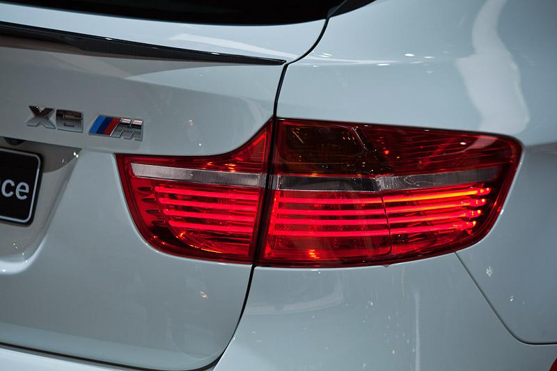 BMW X6 M Performance, Typbezeichnung auf dem Heck