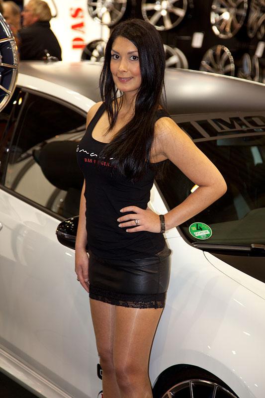 Essen Motor Show 2011: wie im Vorjahr: auf dem Stand von Tomason
