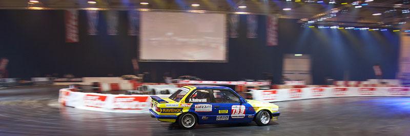 Motorsportarena auf der Essen Motor Show 2011