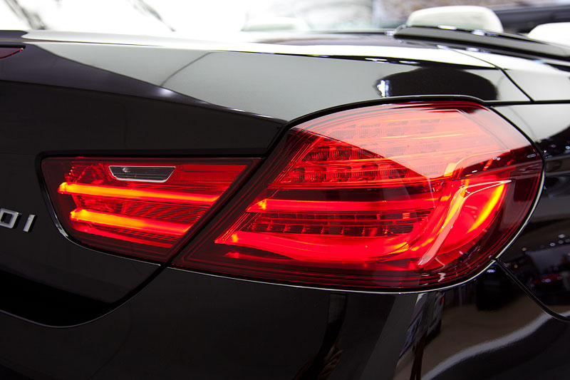 Foto: BMW 650i xDrive Cabrio Individual, Rücklicht (vergrößert)