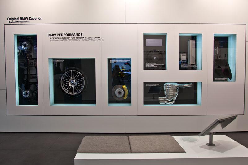 Performance Zubehör, ausgestellt in der BMW Halle auf der IAA 2011