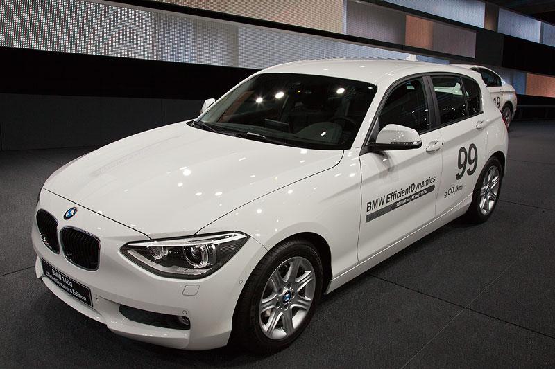 BMW 116d EfficientDynamics Edition mit 3,8 Liter Verbrauch je 100 km und 99 g je km