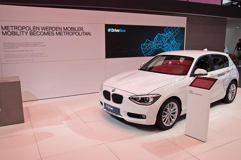 Vorgestellt auf der IAA: das neue BMW DriveNow