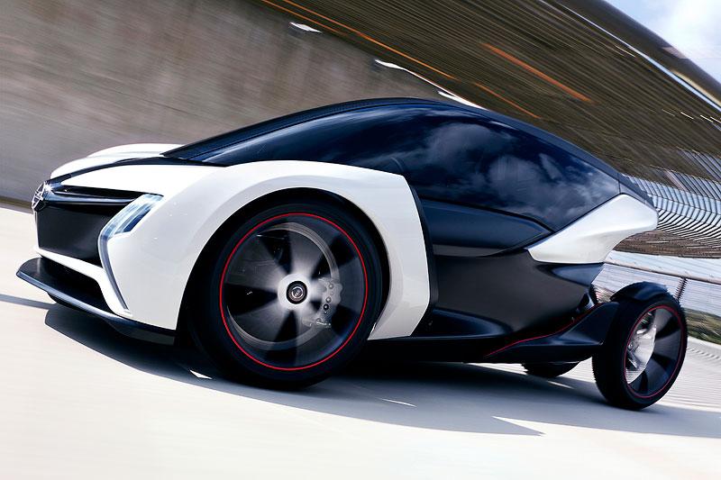 Zweistziges Elektro-Leichtbau-Fahrzeug von Opel