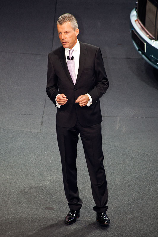 Torsten Müller-Ötvös, CEO Rolls-Royce Motor Cars Limited