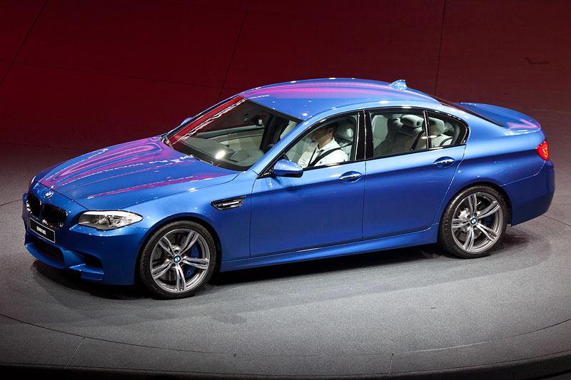 BMW Presse-Konferenz auf der IAA 2011: Weltpremiere für den BMW M5