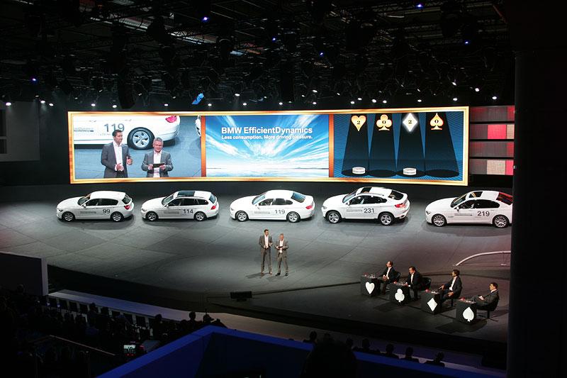 Quiz Händlerveranstaltung in der BMW IAA-Messehalle 2011