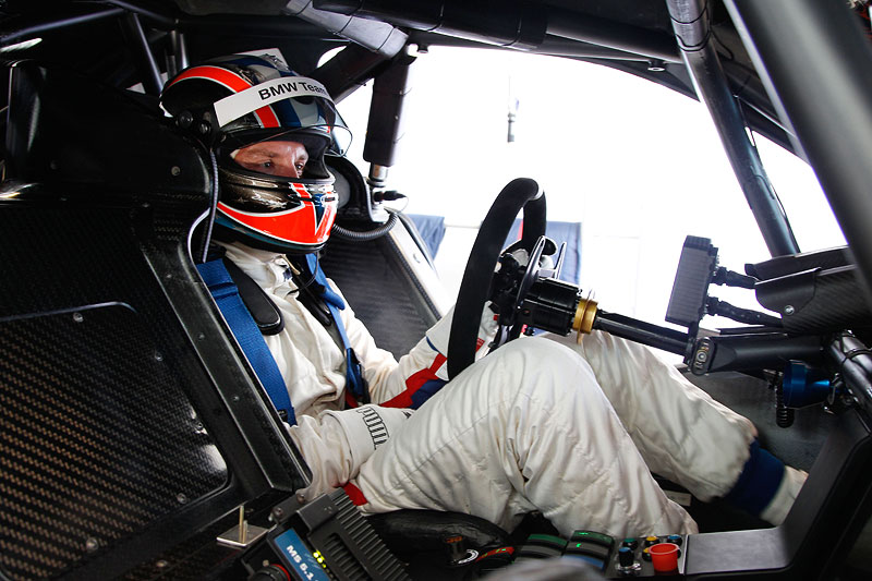 Monteblanco (ES) 15. November 2011: BMW Werks Fahrer Joey Hand (US).