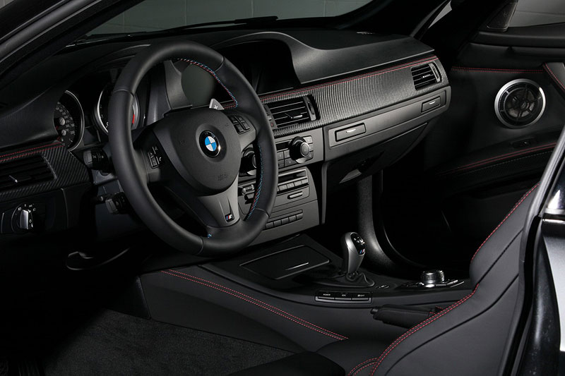 BMW Frozen Black Edition M3 Coupe, Innenraum